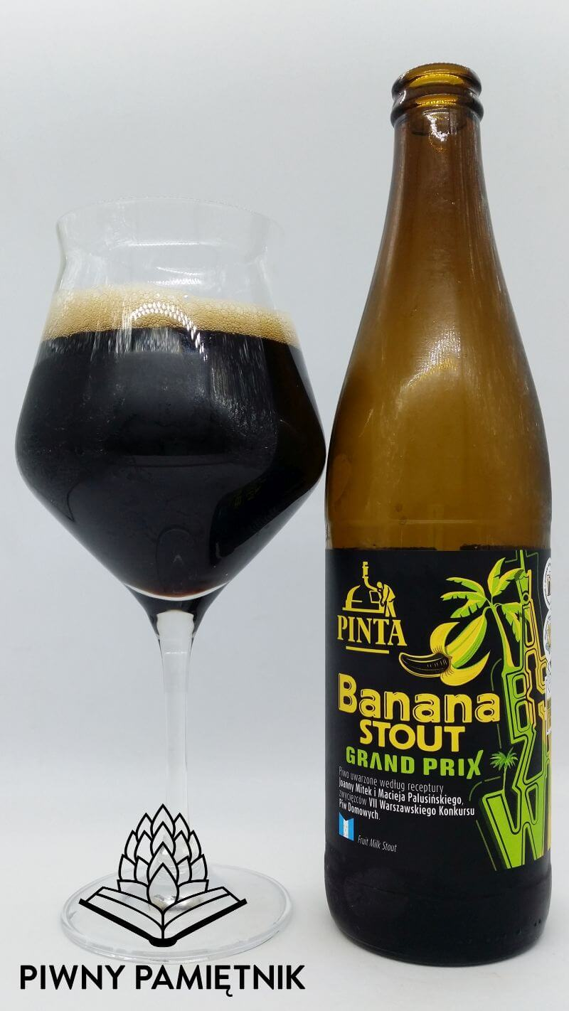 Banana Stout Grand Prix z Browaru Pinta