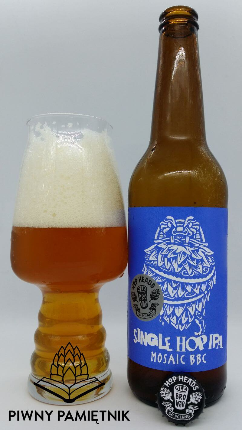 Single Hop IPA BBC Mosaic z Browaru AleBrowar