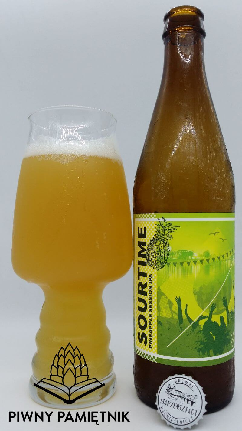 Sourtime Pineapple Session IPA z Browaru Maryensztadt