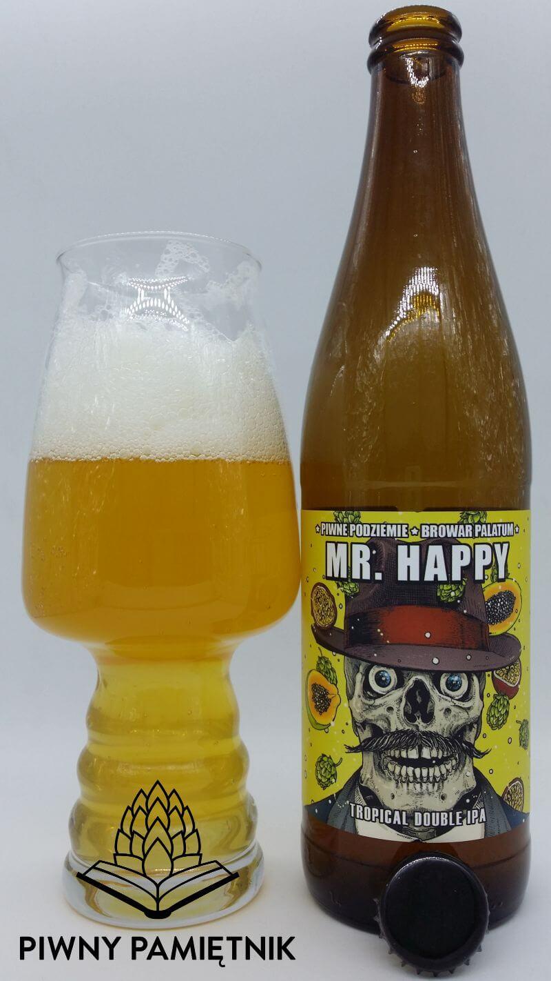 Mr. Happy z kooperacji Browaru Piwne Podziemie i Browaru Palatum