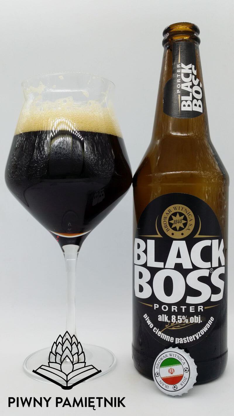 Black Boss Porter 8,5% z Browaru Witnica