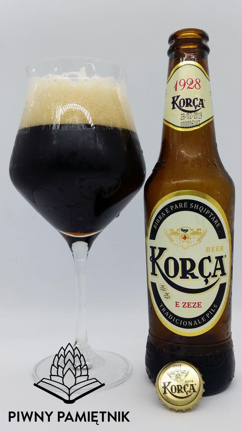 Korça Pils e Zezë z Browaru Birra Korça (Korcza – Albania)