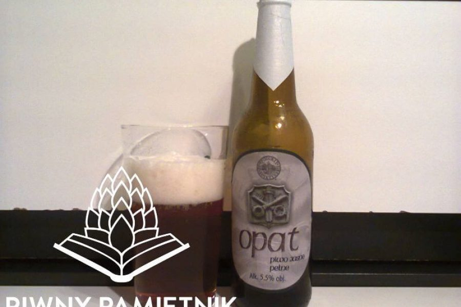 Opat Piwo Jasne Pełne z Browaru Połczyn-Zdrój