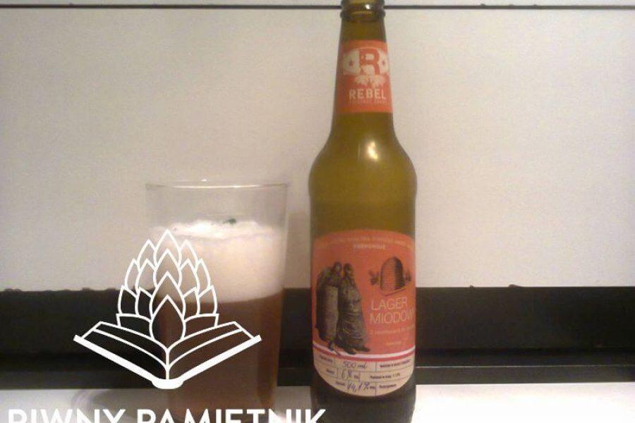Rebel Lager Miodowy z Browaru Cornelius (Sulimar)