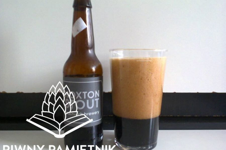 Hoxton Stout z Browaru Redchurch Brewery (Londyn – Anglia)