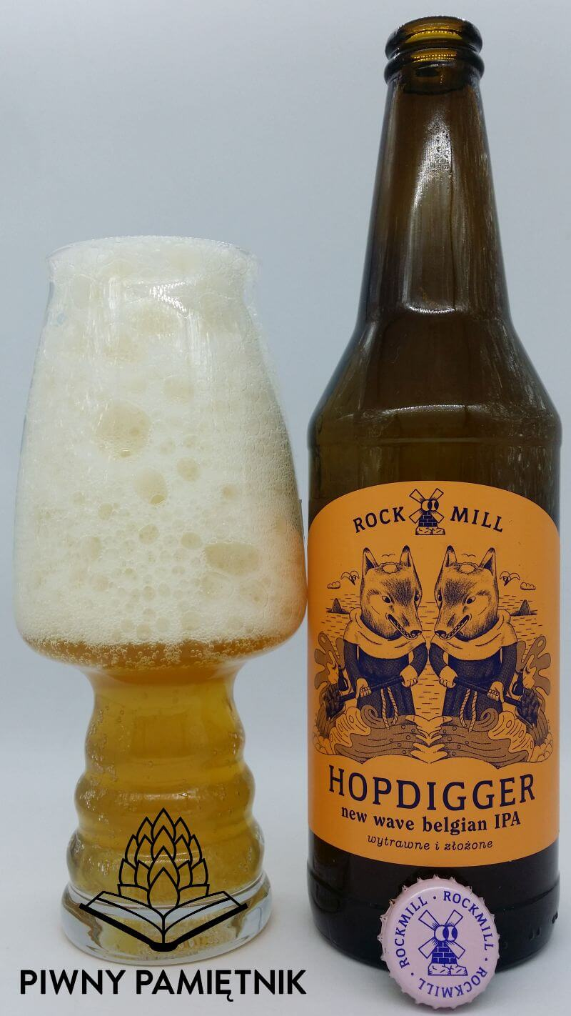 Hopdigger z Browaru Rockmill