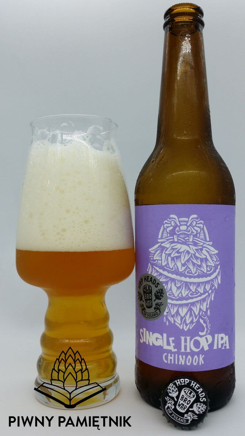 Single Hop IPA Chinook z Browaru AleBrowar