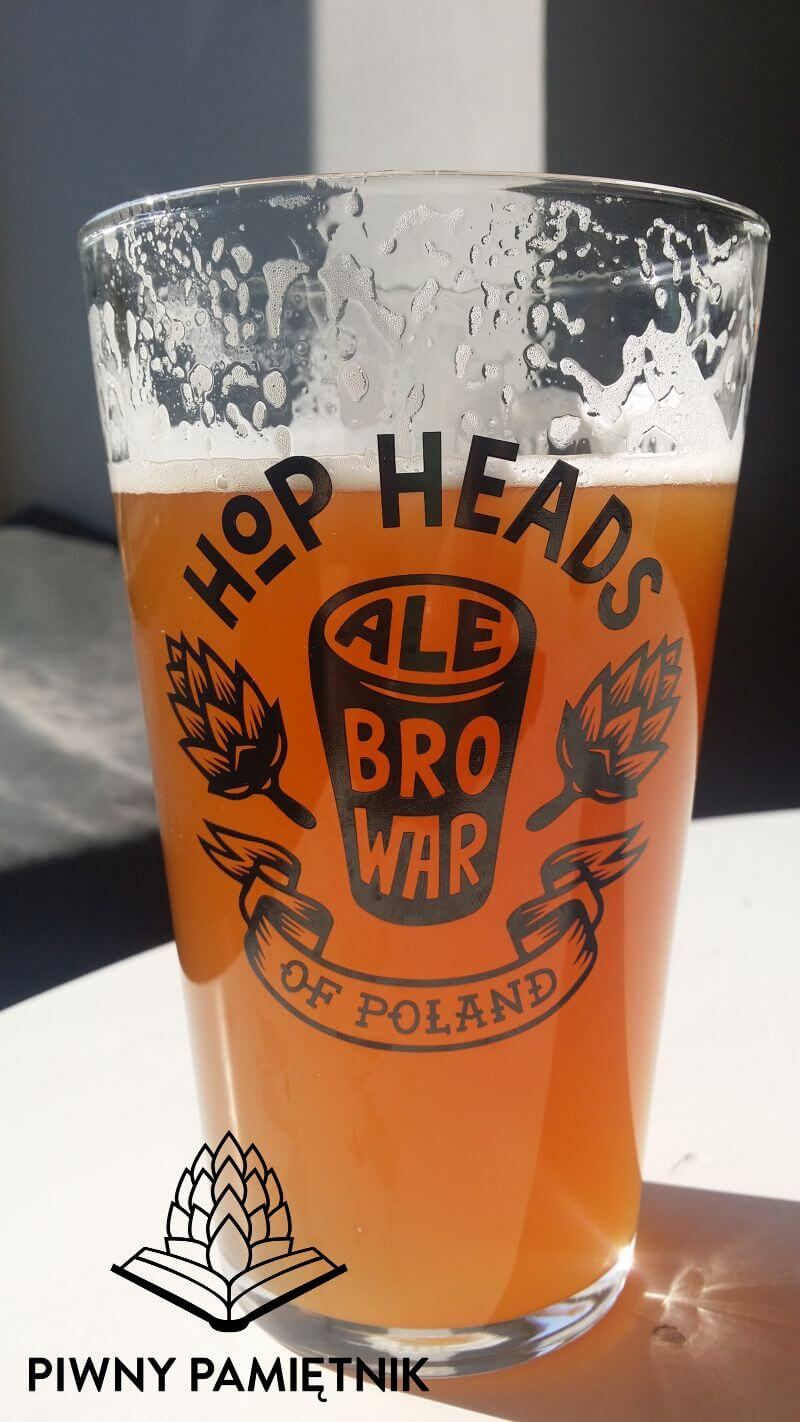 Single Hop IPA Amarillo z Browaru AleBrowar