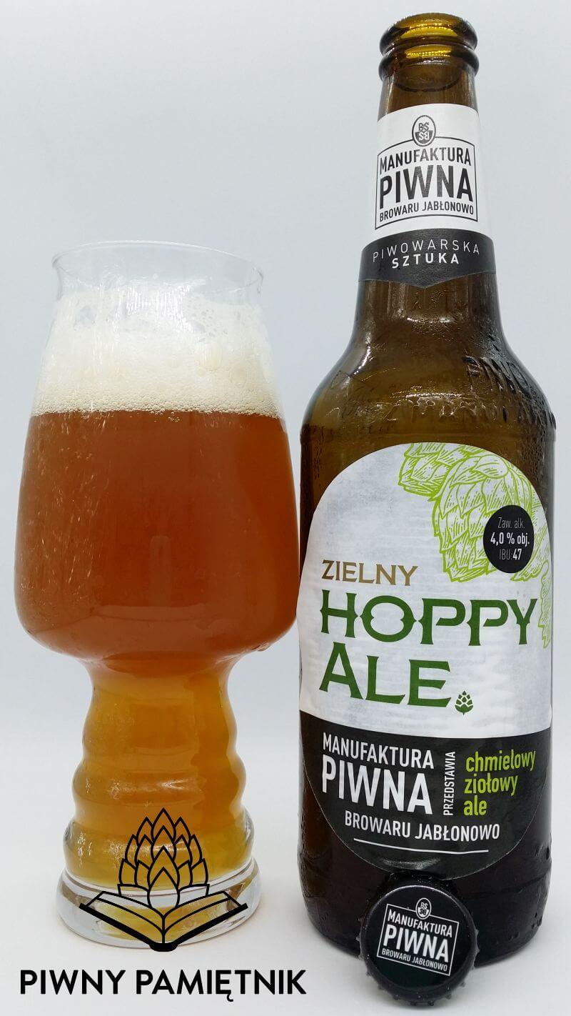 Zielny Hoppy Ale z Manufaktury Piwnej Browaru Jabłonowo