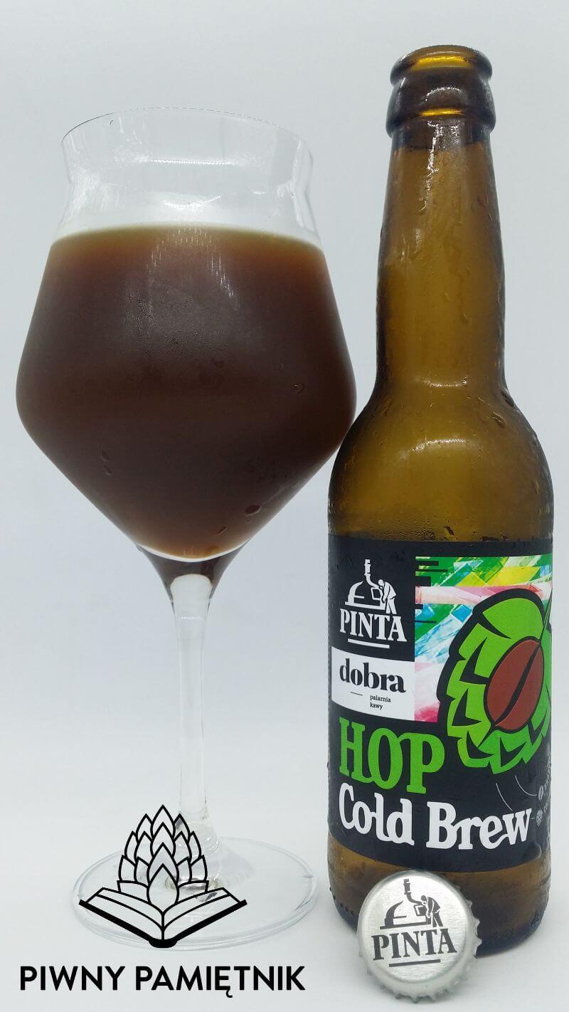 Hop Cold Brew z kooperacji Browaru Pinta i Dobrej Palarni Kawy