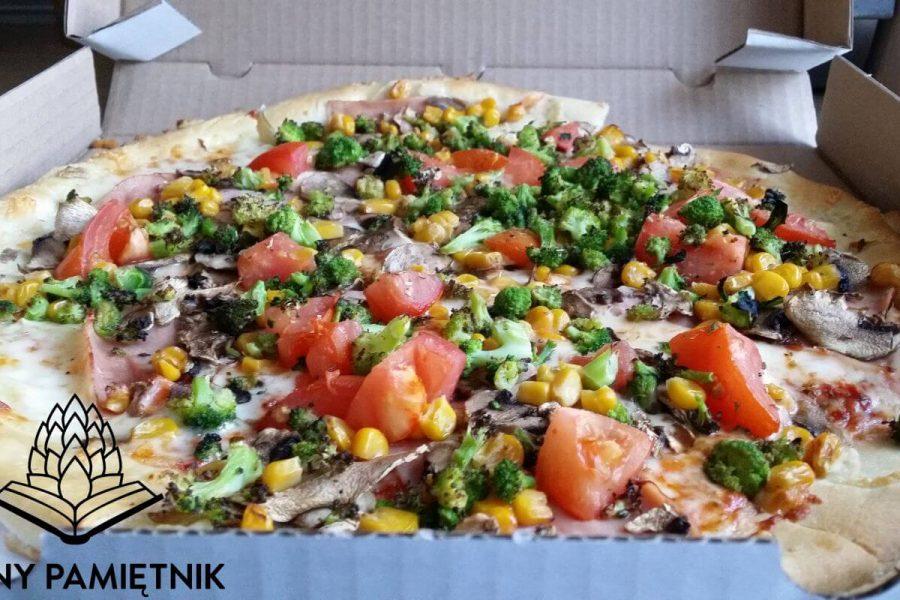 Alabama Pizza zmówiona z Pizza Station Długołęka