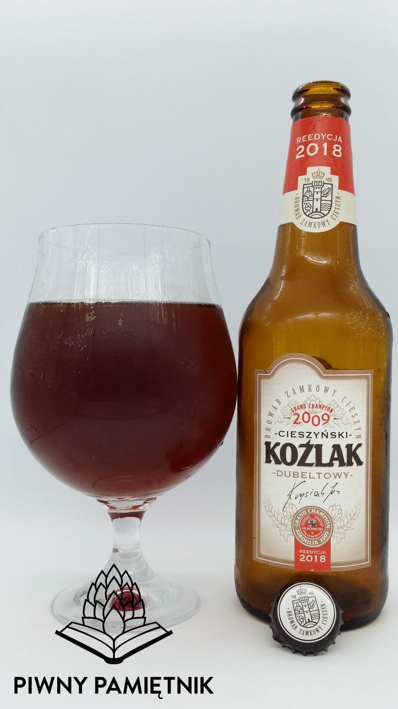 Cieszyński Koźlak Dubeltowy Reedycja 2018 z Browaru Zamkowego Cieszyn. Grand Champion 2009.