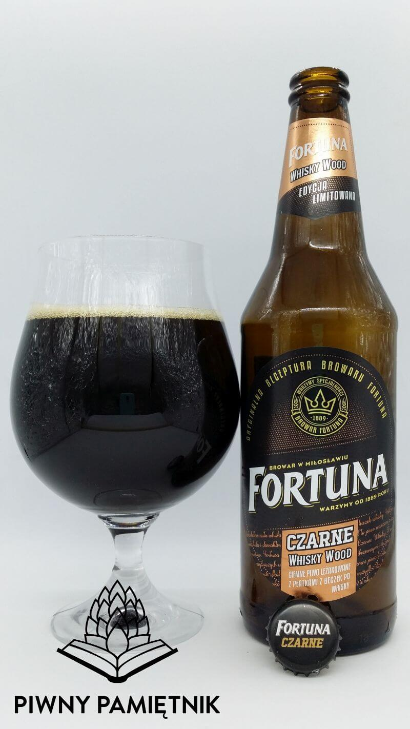 Fortuna Czarne Whisky Wood z Browaru Fortuna