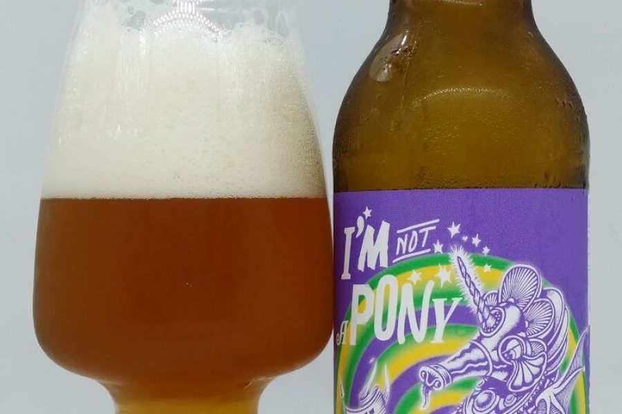 I'm not a Pony z kooperacji Browaru AleBrowar i Browaru First Chop Brewing Arm (Manchester – Anglia)