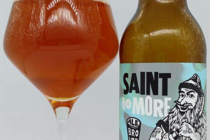 Saint No More 2018 z kooperacji Browaru AleBrowar i Õllenaut OÜ (Saue – Estonia)