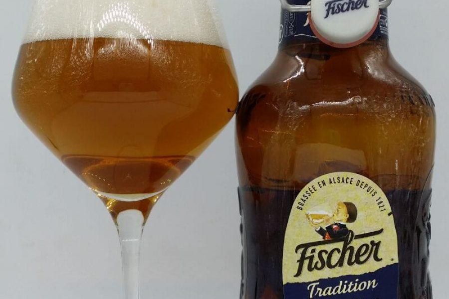 Fischer Tradition z Browaru Fischer [Heineken] (Rueil-Malmaison – Francja)