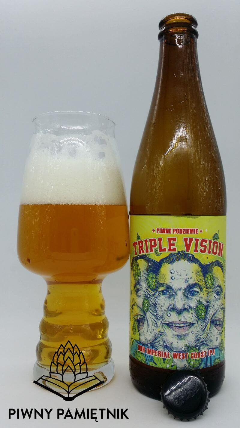 Triple Vision z Browaru Piwne Podziemie