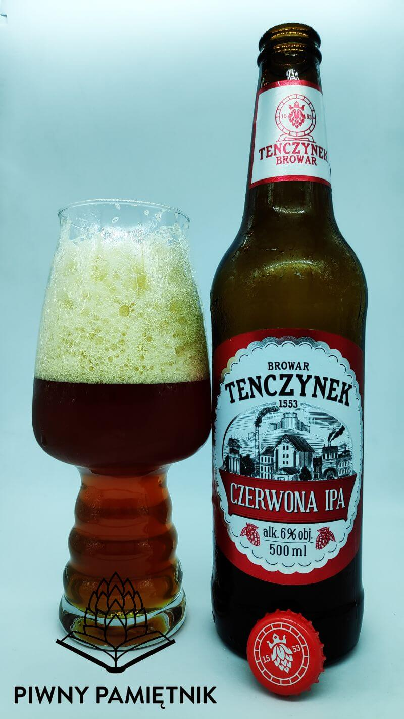 Czerwona IPA z Browaru Tenczynek