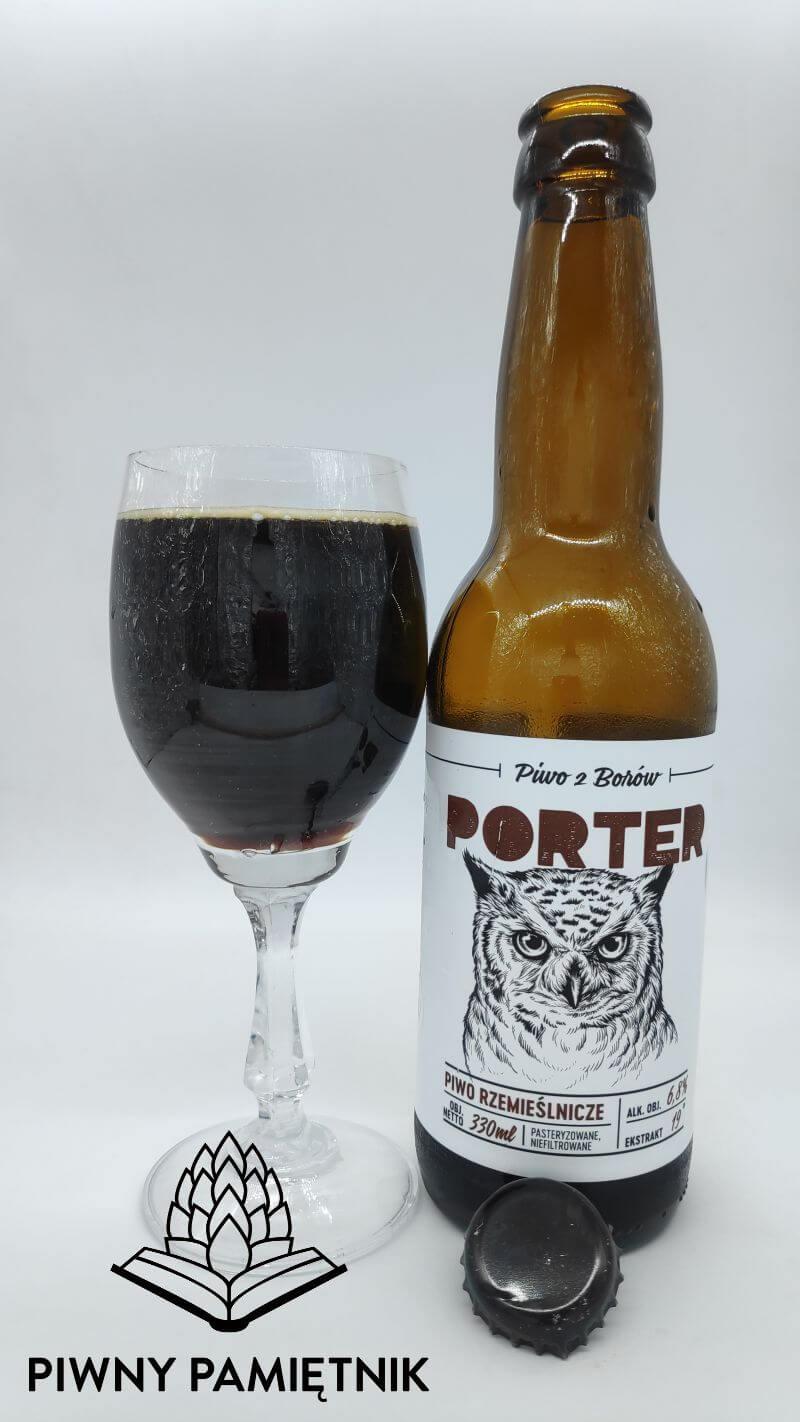 Porter z Browaru Przystanek Tleń
