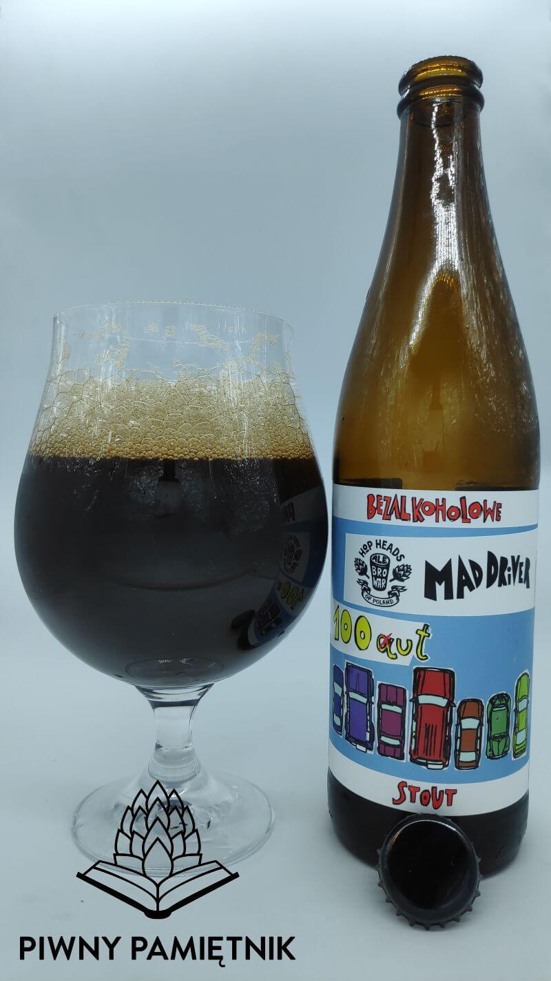Mad Driver 100ut z kooperacji Browaru Studio Brewing i Browaru AleBrowar