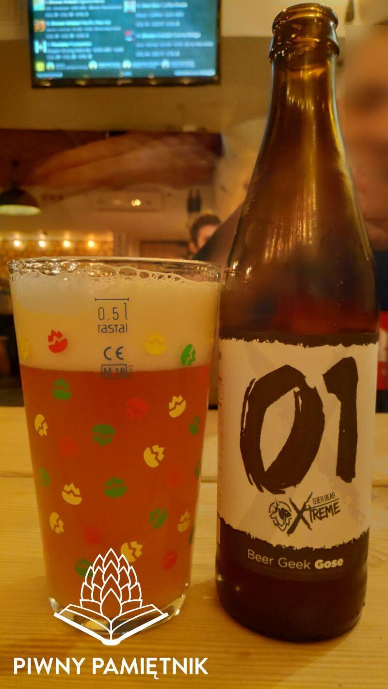 Xtreme 01 – Beer Geek Gose z Browaru Deer Bear