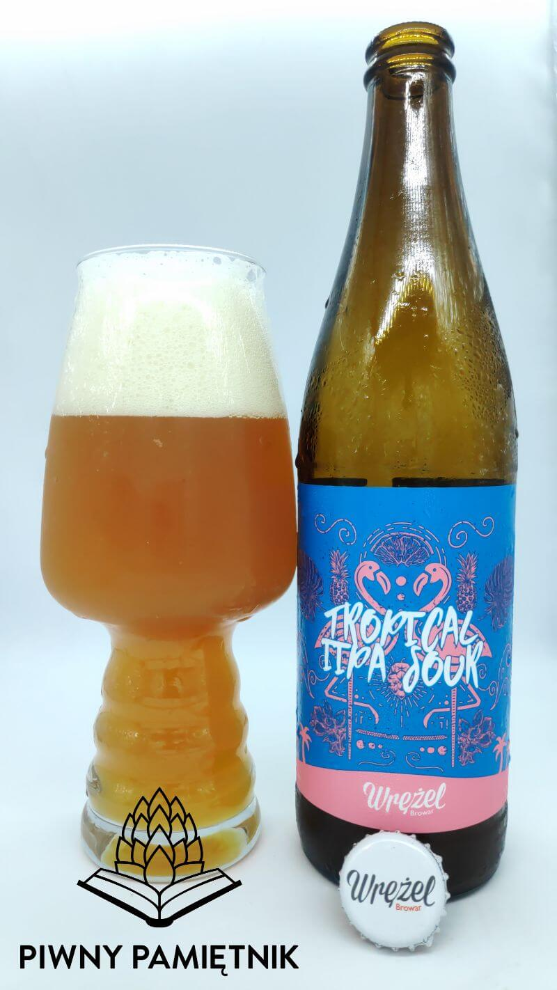 Tropical IIPA Sour z Browaru Wrężel