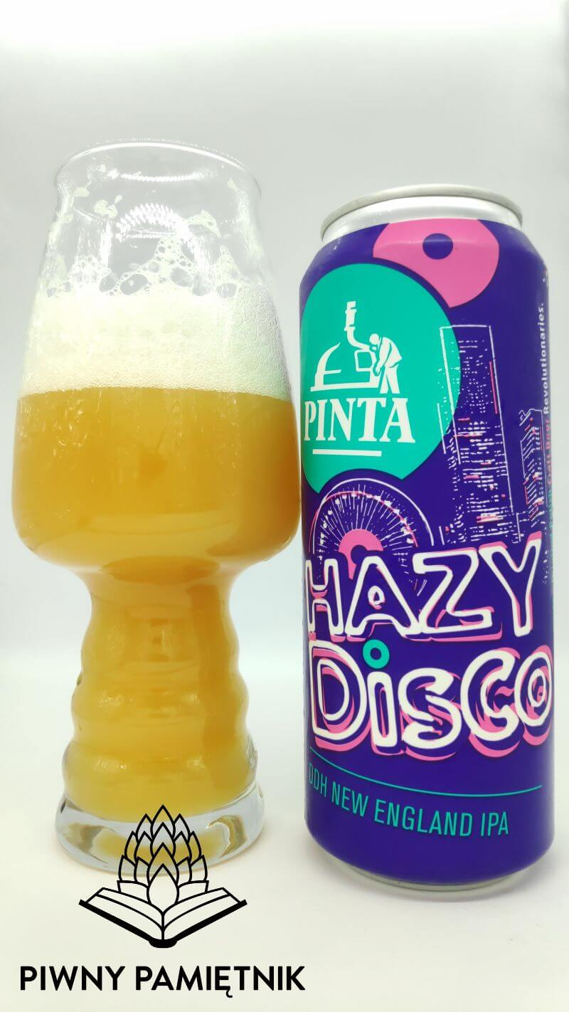 Hazy Disco z Browaru Pinta