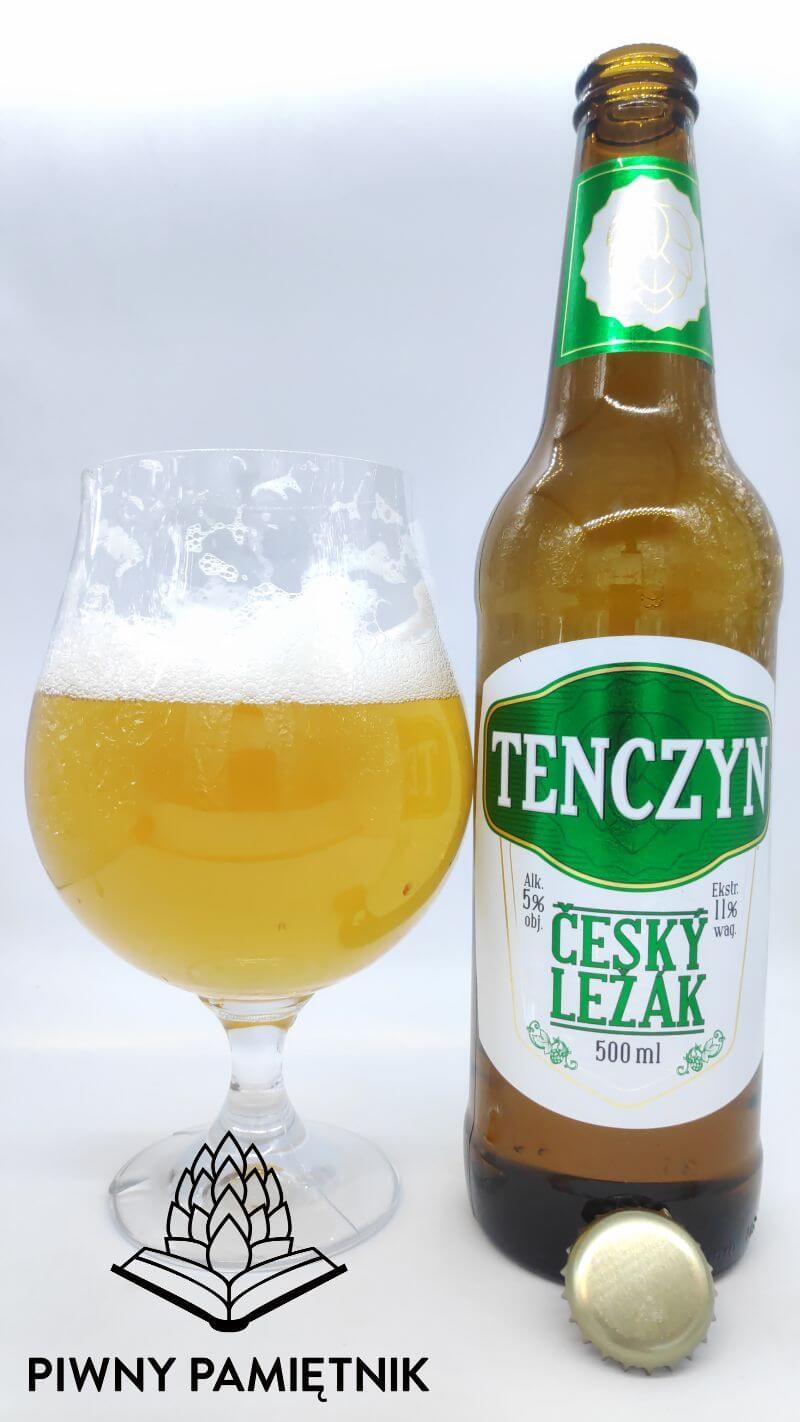 Tenczyn Ćeský Ležák z Browaru Tenczynek