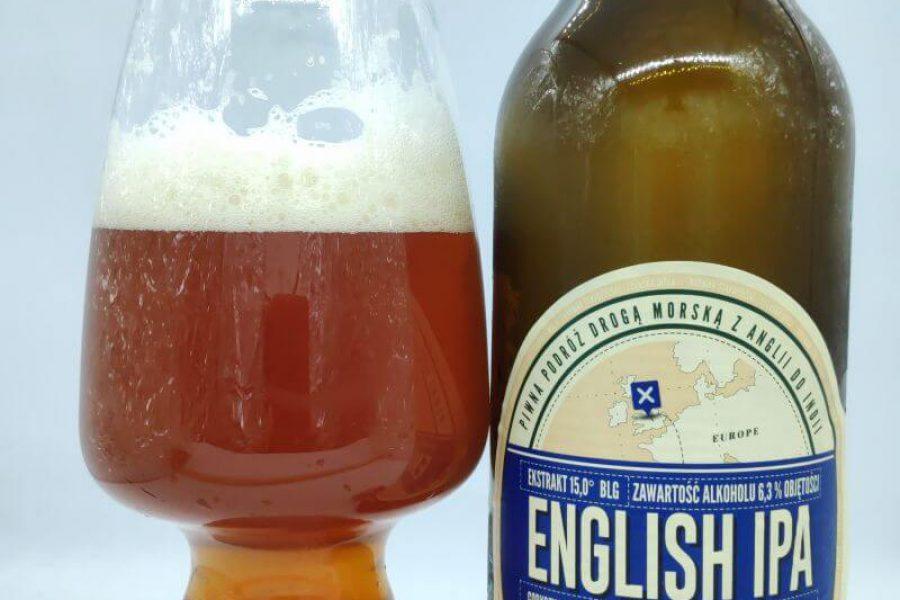 English IPA z Browaru Staropolskiego