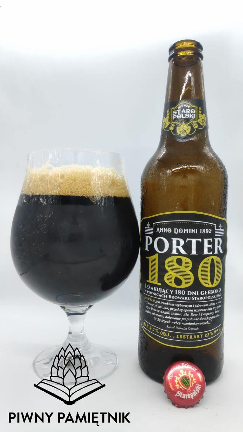 Porter 180 z Browaru Staropolskiego