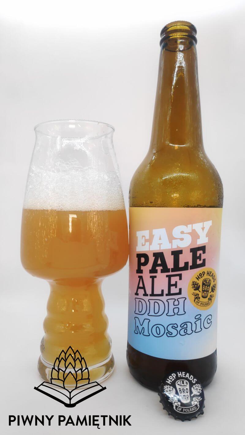 Easy Pale Ale DDH Mosaic z Browaru AleBrowar