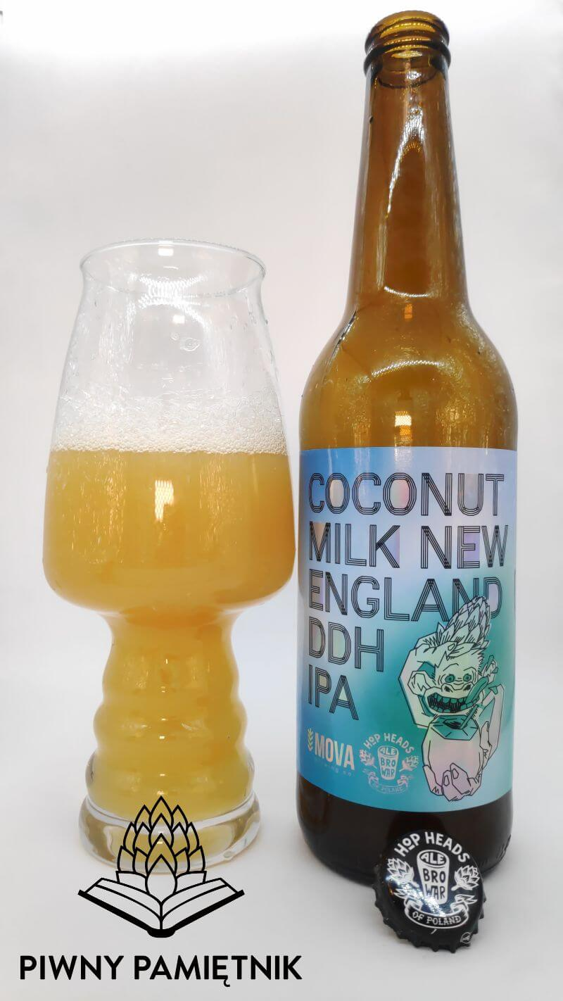 Coconut Milk New England DDH IPA z kooperacji Browaru AleBrowar i Browaru MOVA Brewing Co. (Dniepr – Ukraina)