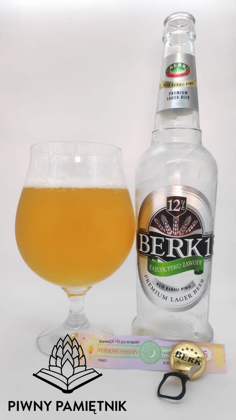 Berk 1 z Browaru Ýaşlyk Piwo Zawody (Jashlyk – Turkmenistan)