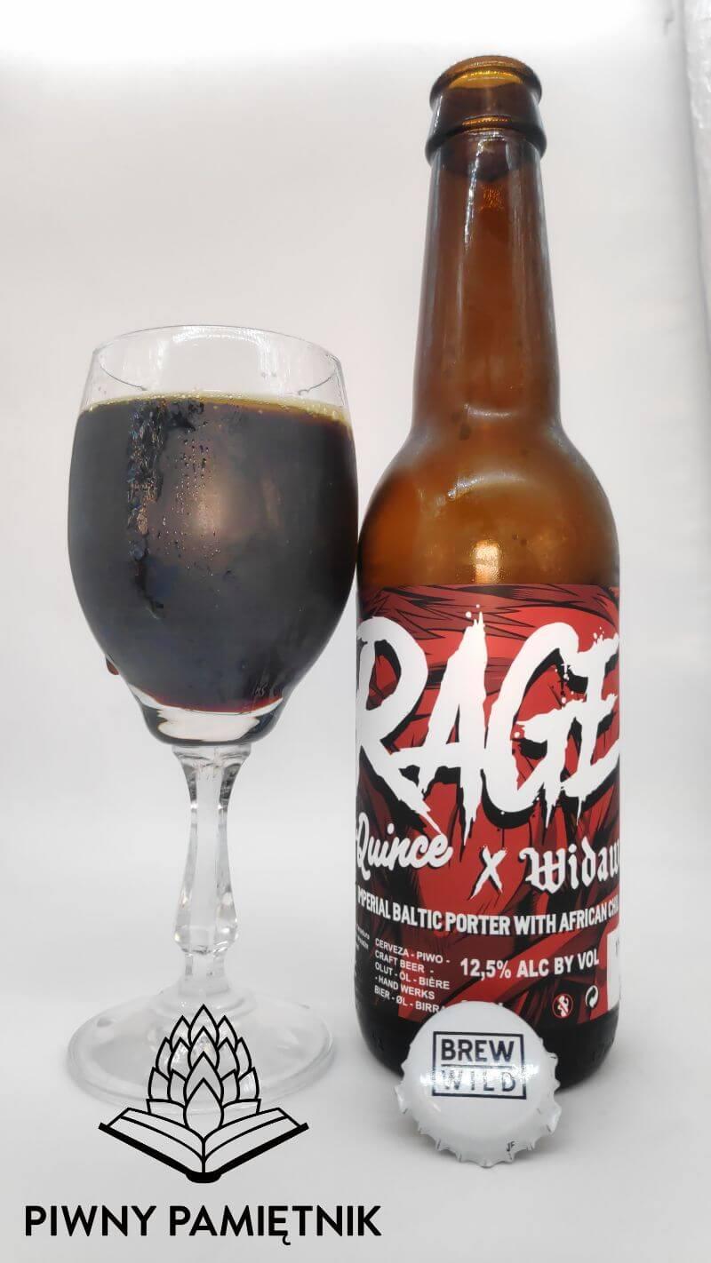 Rage z kooperacji Browaru Widawa i Browaru La Quince Brewery (Madryt – Hiszpania)