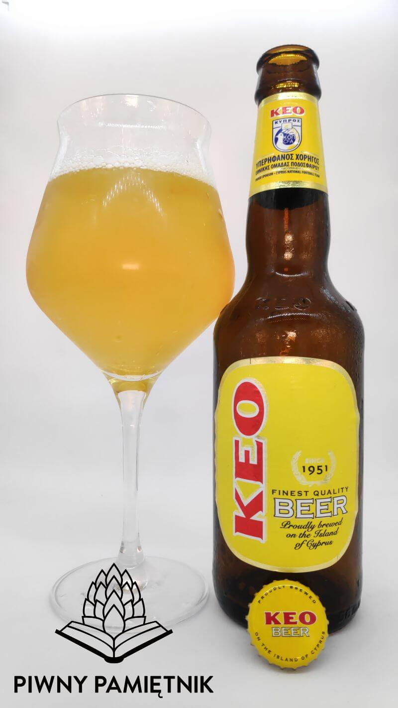 KEO z Browaru KEO Ltd  (Limassol – Cypr)