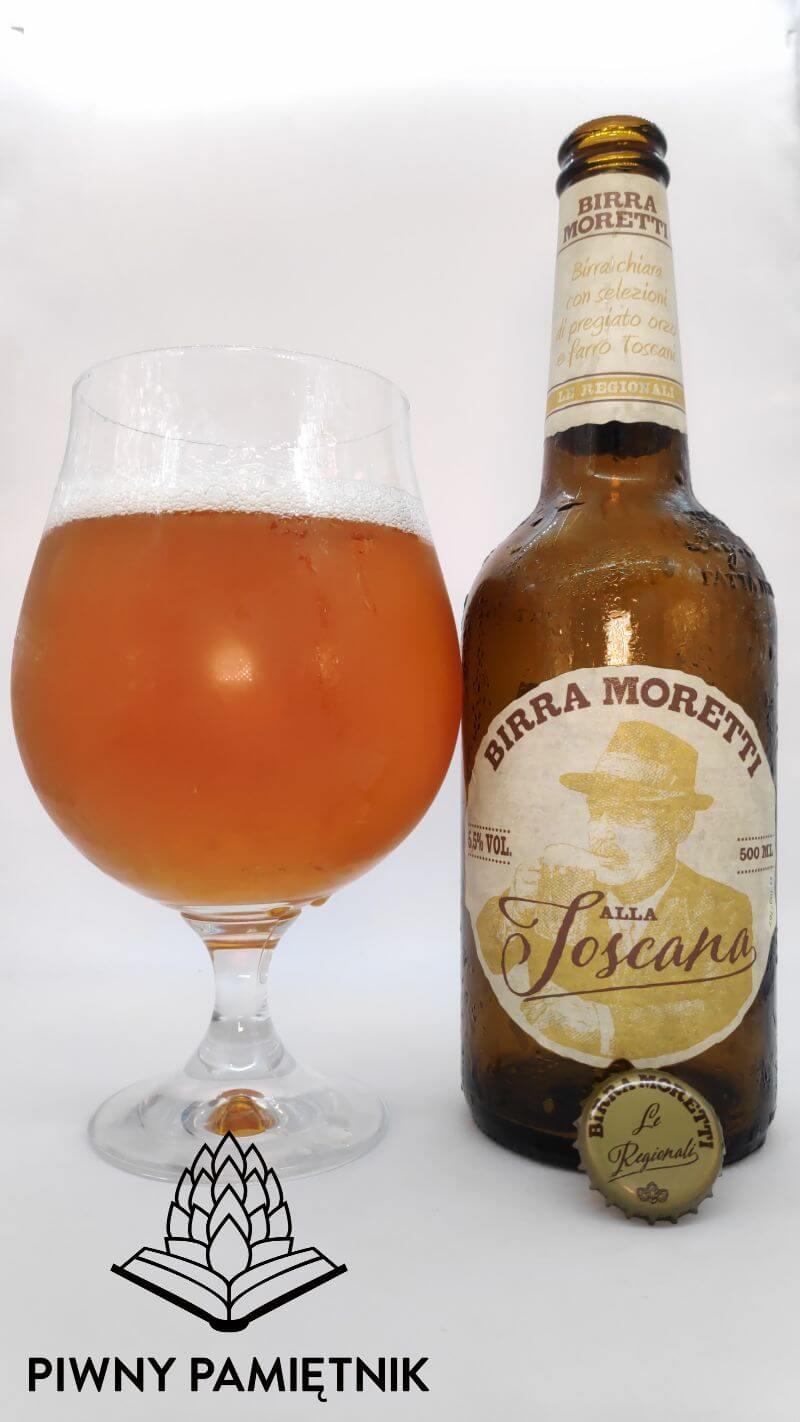 Birra Moretti alla Toscana z Browaru Birra Moretti [Heineken] (Sesto San Giovanni – Włochy)