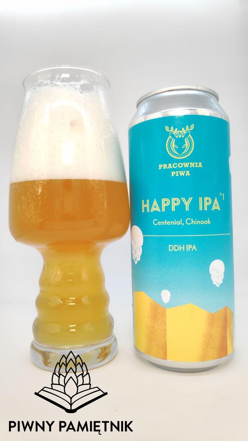 Happy IPA °1 z Browaru Pracownia Piwa