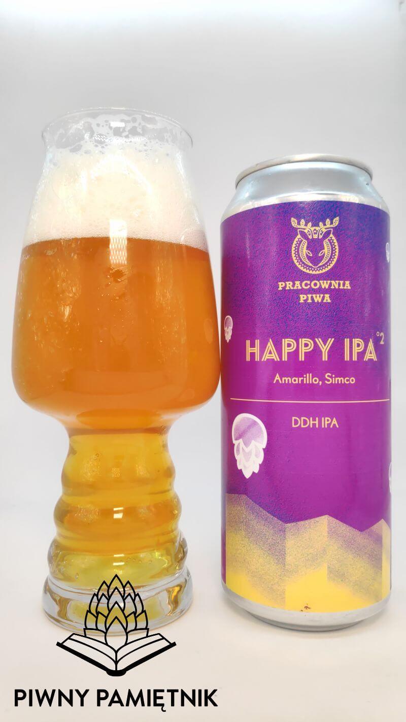 Happy IPA °2 z Browaru Pracownia Piwa