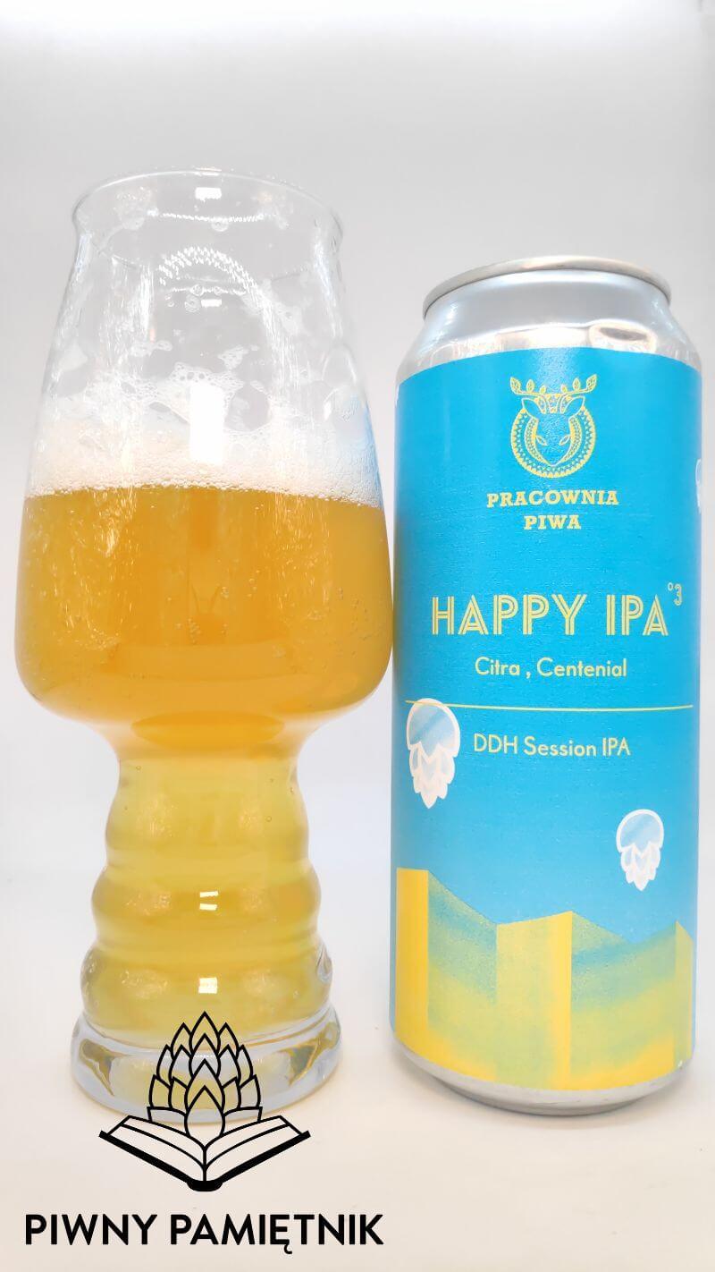 Happy IPA °3 z Browaru Pracownia Piwa