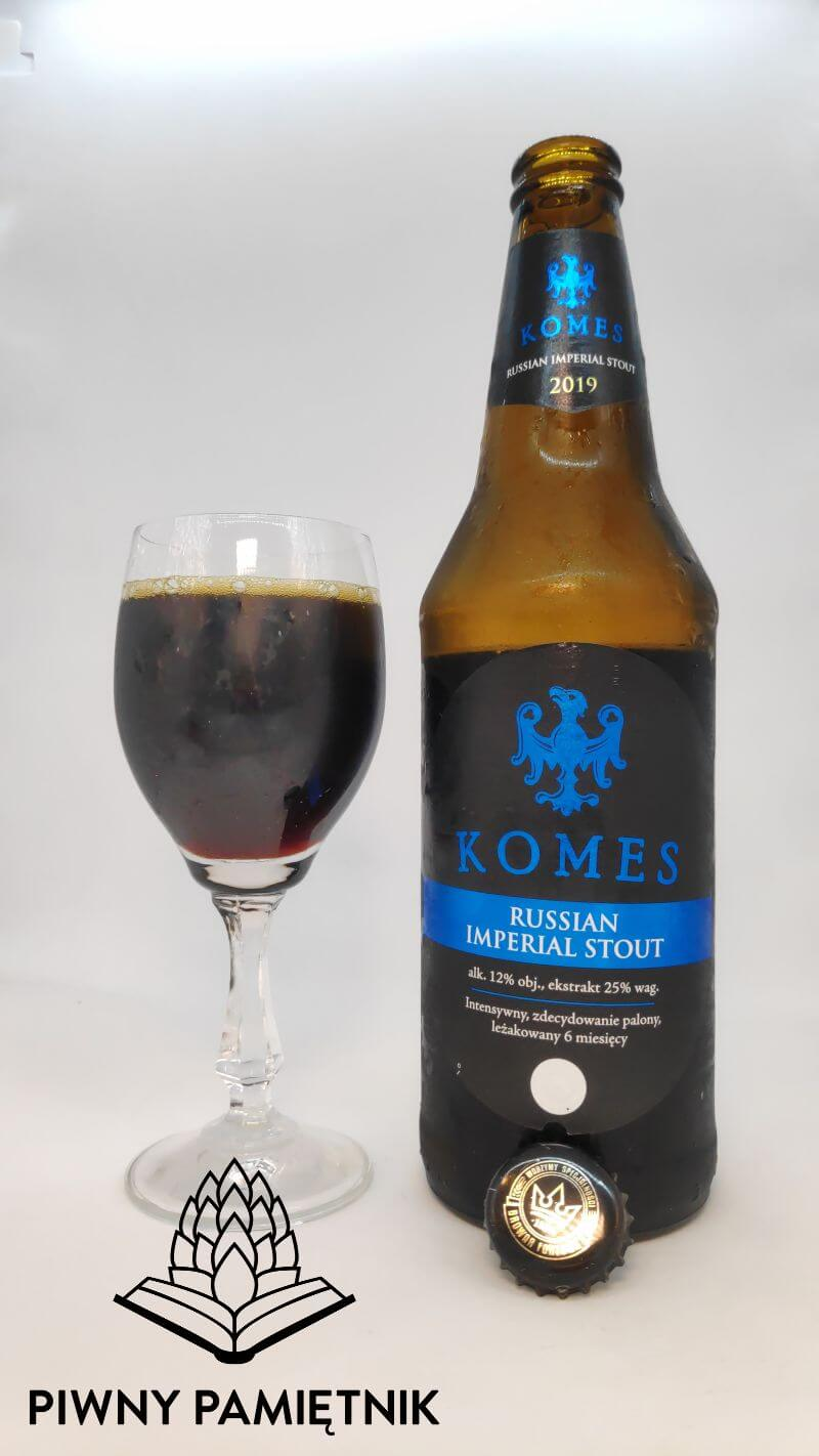 Komes Russian Imperial Stout 2019 z Browaru Fortuna
