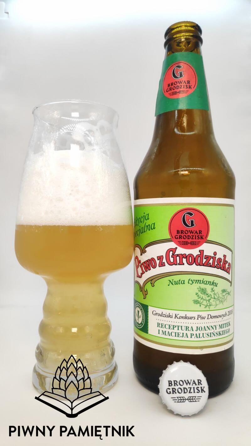 Piwo z Grodziska Nuta Tymianku z Browaru Grodzisk