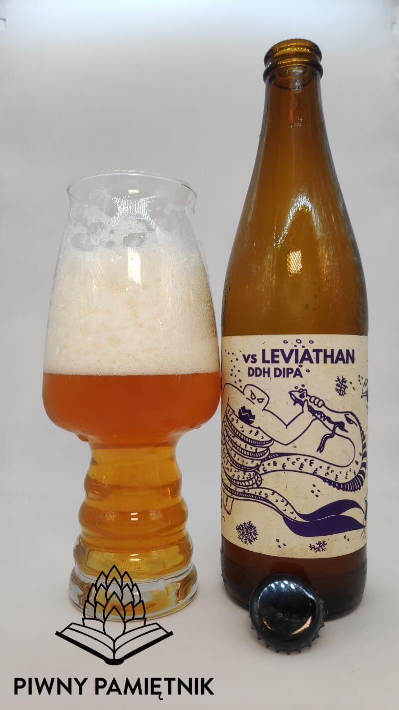 Golem vs Leviathan z Browaru Golem