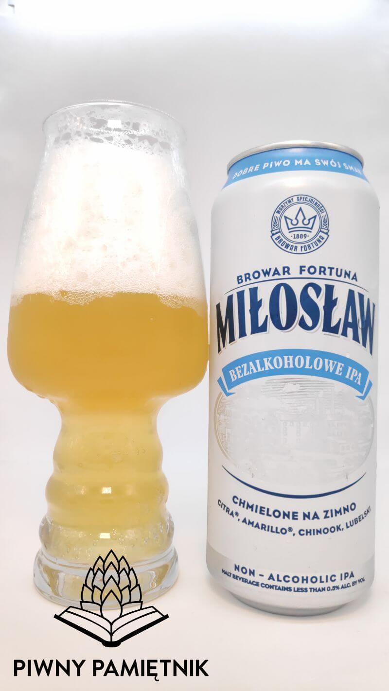 Miłosław Bezalkoholowe IPA z Browaru Fortuna