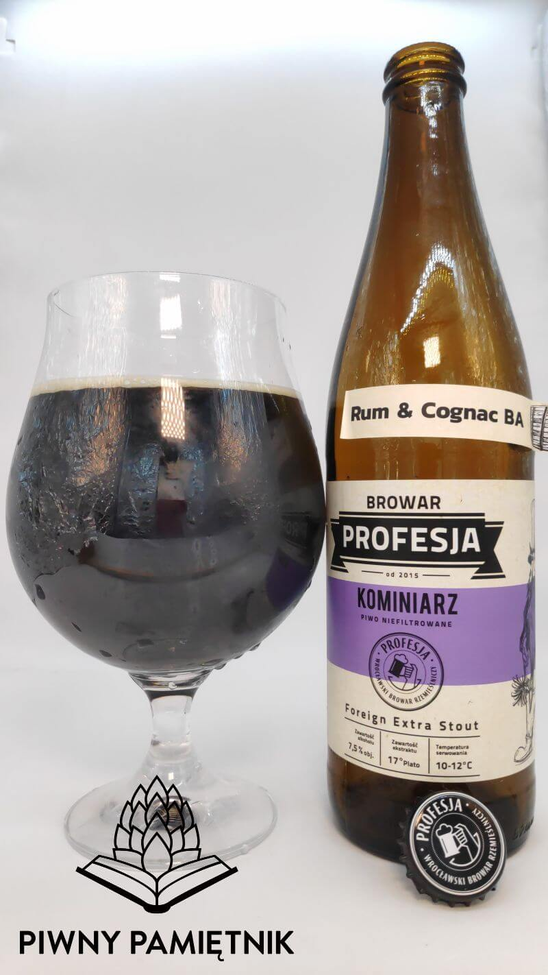 Kominiarz Rum & Cognac BA z Browaru Profesja