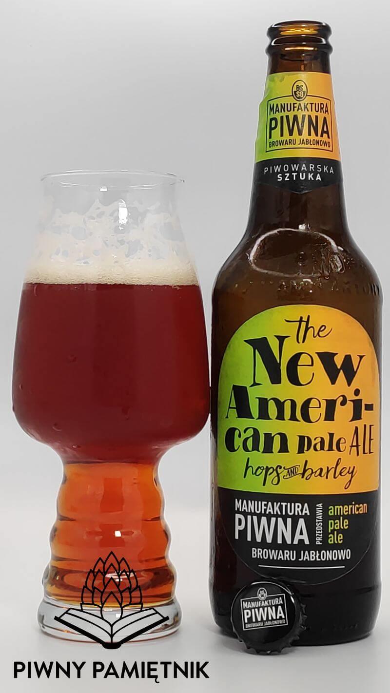 The New American Pale Ale z Manufaktury Piwnej Browaru Jabłonowo