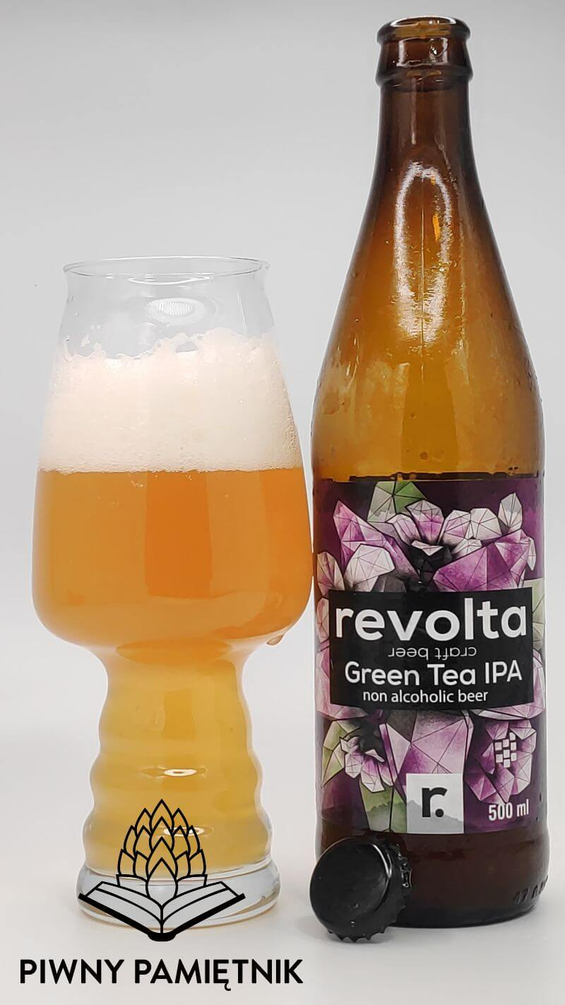 Green Tea IPA z Browaru Revolta
