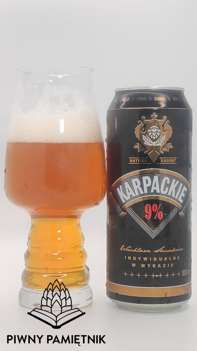 Karpackie 9% z Browaru Van Pur
