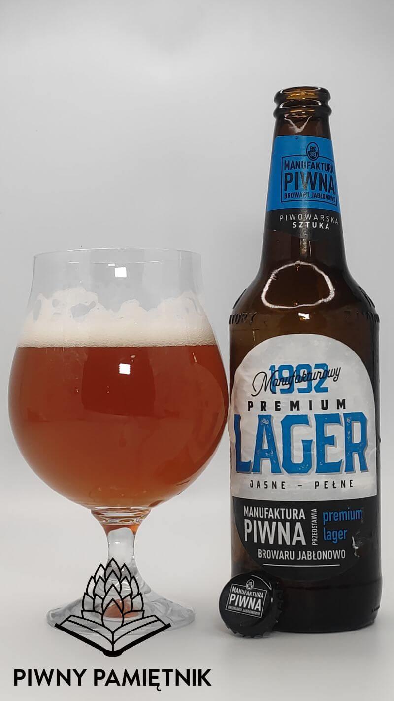 1992 Premium Lager z Manufaktury Piwnej Browaru Jabłonowo