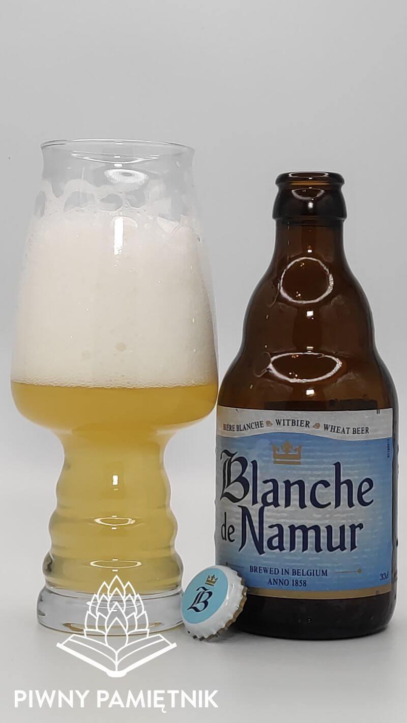 Blanche de Namur z Browaru Brasserie Du Bocq (Purnode – Belgia)