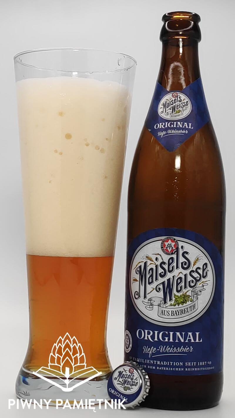 Maisel's Weisse Original z Browaru Brauerei Gebr. Maisel Bayreuth (Bayreuth – Niemcy)
